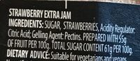 Classic Strawberry - Ingredients