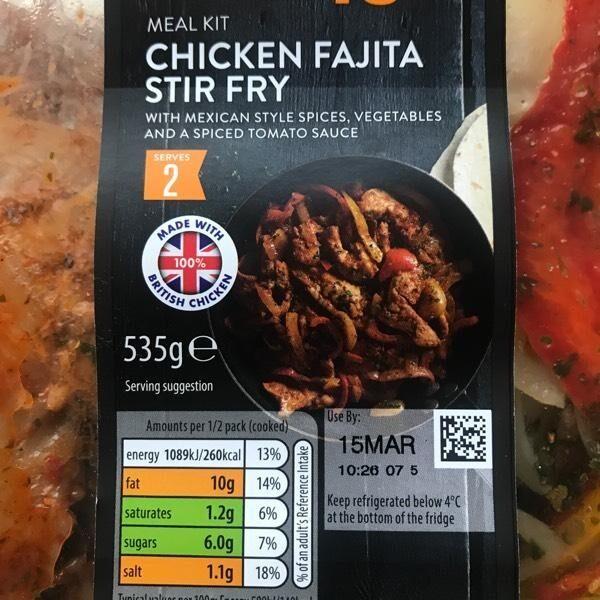 Chicken Fajita stir fry - Produit - en