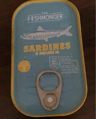 Sardines in sunflower oil - Produit