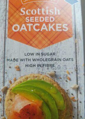 Scottish seeded oatcakes - Product - en