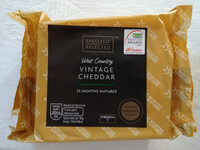 Vintage Cheddar - Produit - en