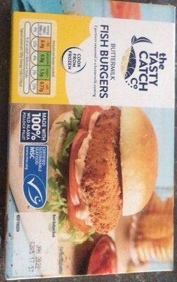 Buttermilk Fish Burgers - Produit - en