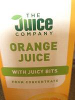 The Juice Company Orange Juice with bits - Product - en