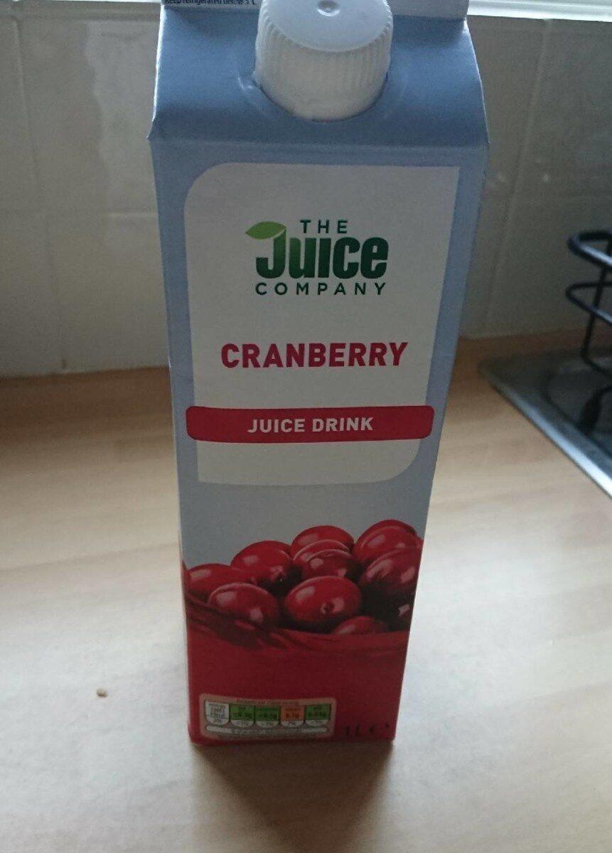 Cranberry juice drink - Produit - en