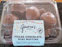 Filled Chocolate Mini Muffins - Product - en