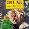 Chilli and lime soft taco - Product