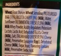 tortelloni pasta - Ingredients - en