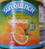 sun quench orange - Product