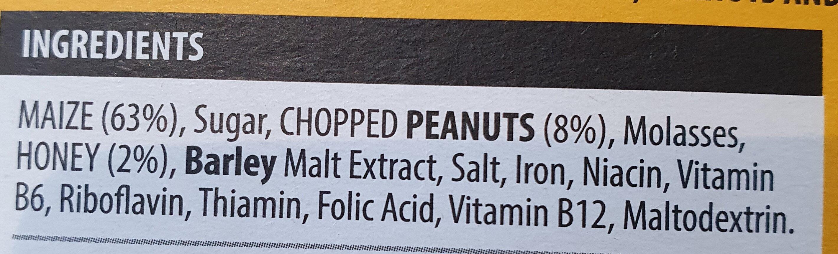 Honey nut - Ingredients - en