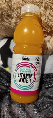 Orange, Mango & Passionfruit Vitamin Water - Product - en