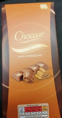 Smooth caramel chocolate - Produit