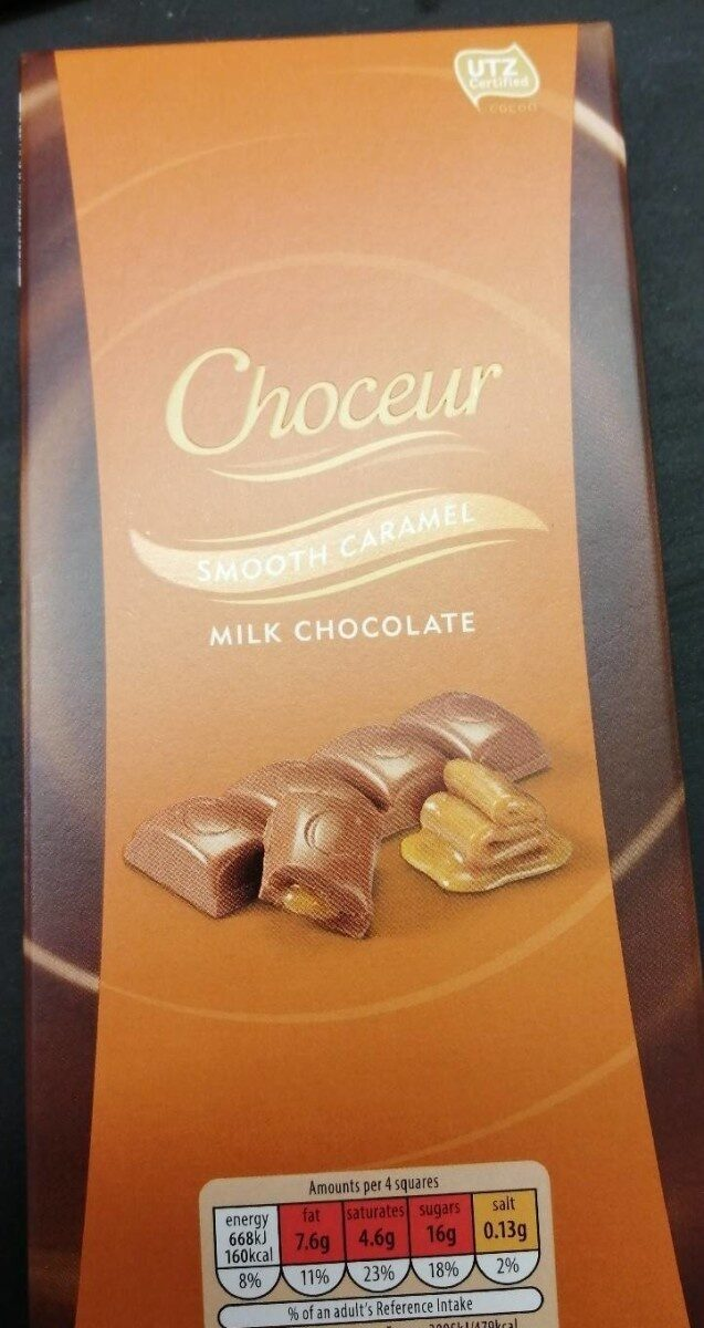 Smooth caramel chocolate - Produit - en