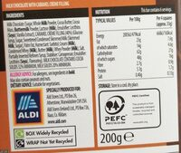 Smooth caramel chocolate - Informations nutritionnelles - en