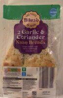 Garlic & Coriander Naan Breads - Product - en