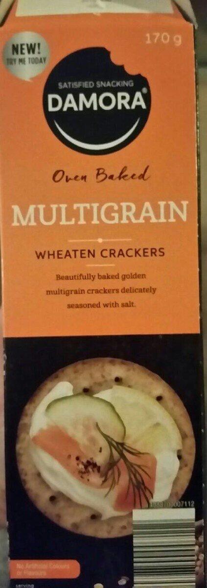 Oven baked Multigrain Wheaten Crackers - Product - en