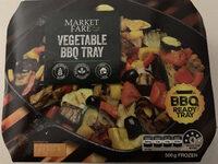Aldi Market Fare Vegetable BBQ tray - Product