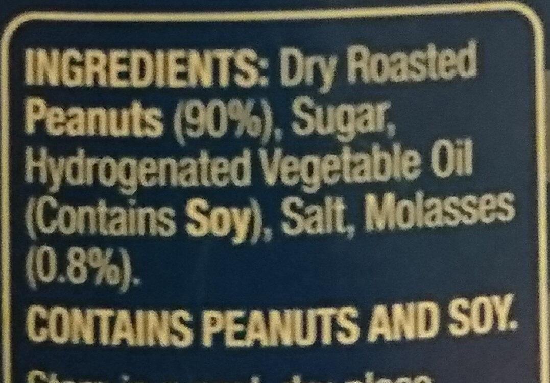 American style Peanut butter - Ingredienti - en