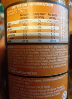 silks butter chicken - Ingredients - en
