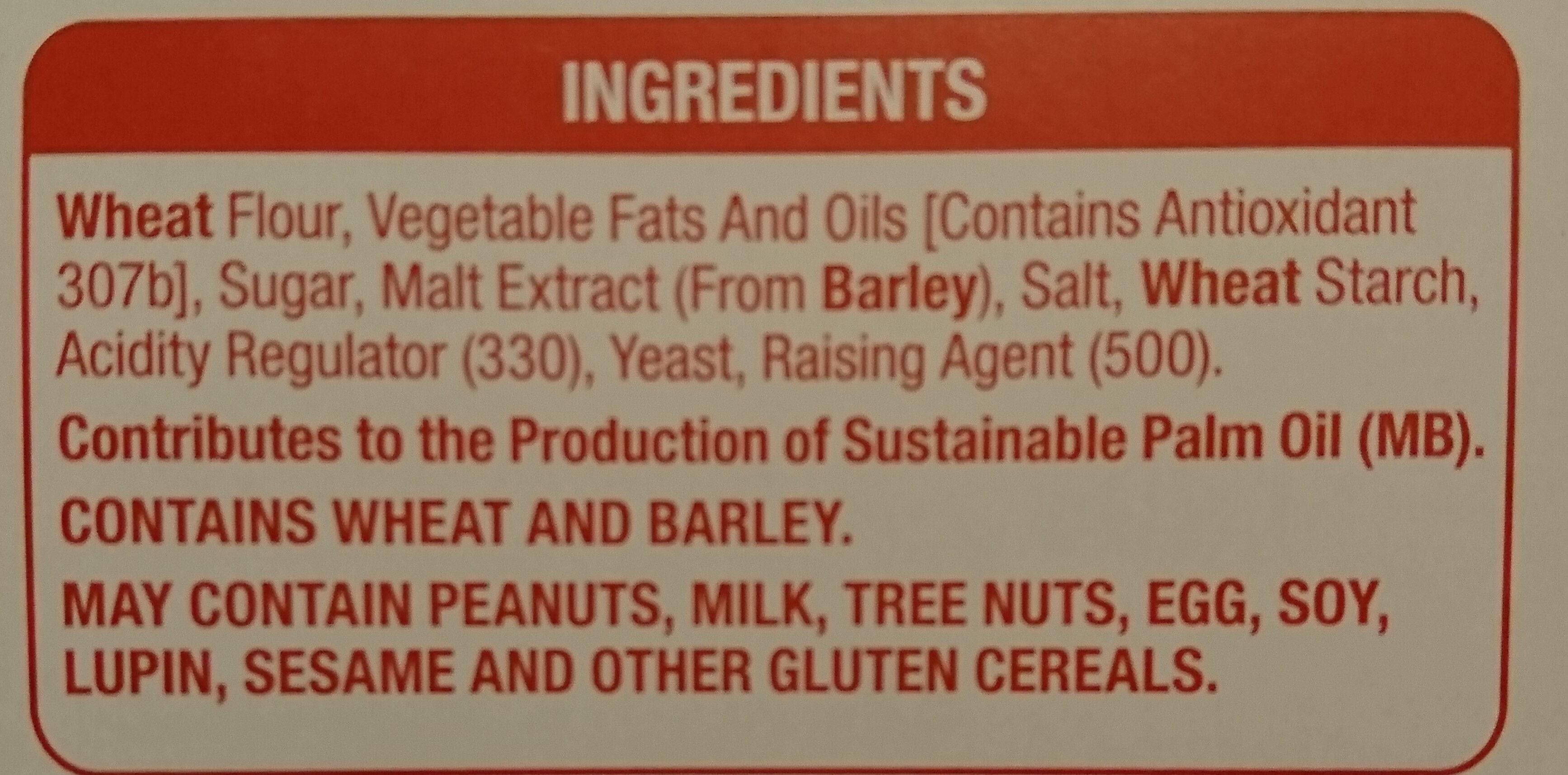 ETON Crackers - Ingredients - en