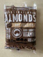 Australian Almonds Dry Roasted - Product - en