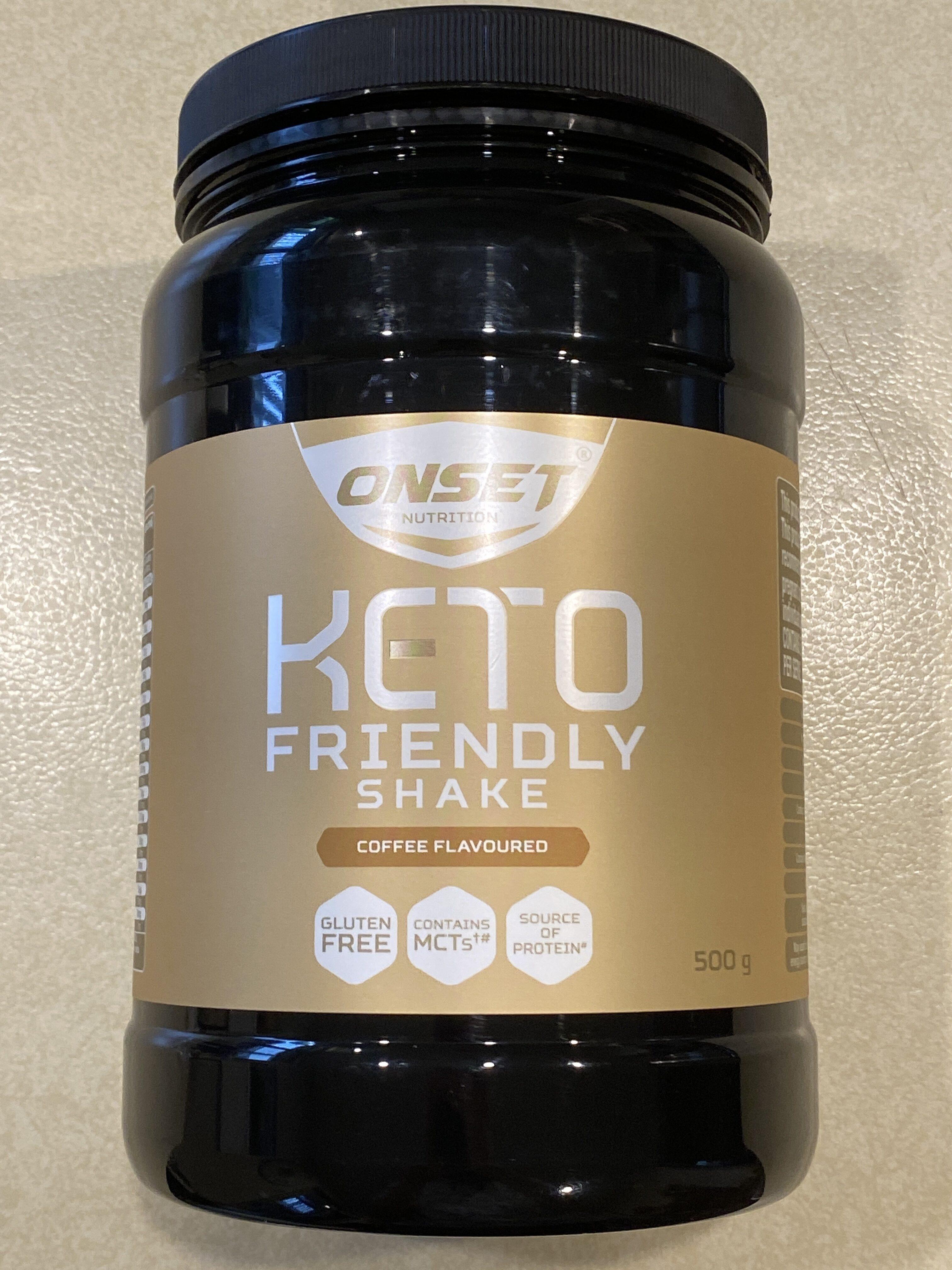 Keto Friendly Shake Coffee Flavoured - Product - en