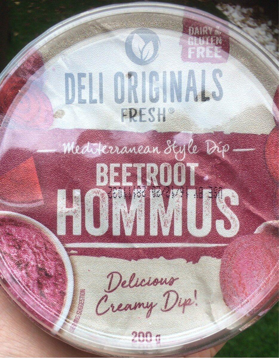 Beetroot hommus - Product - en