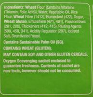 Large Wraps - Ingredients - en