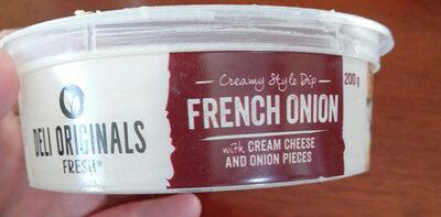 French Onion Dip - Produit - en