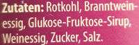 Rotkohl - Ingredienti - de