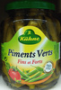 Piments verts fins et forts - Prodotto