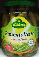Piments verts fins et forts - Produit - fr