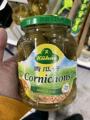 Gewürzgurken mit feinen Gewürzen - Product - fr