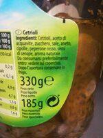 Cornichons épicés - Ingrediënten - fr