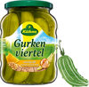 Gurken viertel würzig-süß mit feiner Kurkumanote - Prodotto