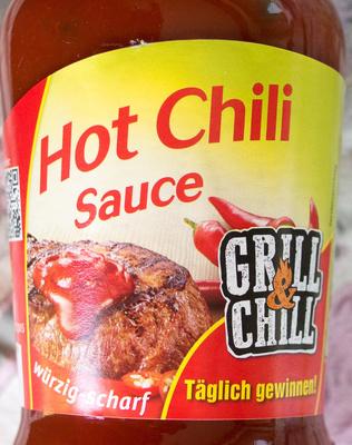 Chilisauce Hot Chili Sauce - Produit