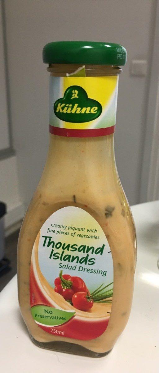 Kuhne Salatfix Thousand Islands 250ML - Produit - fr
