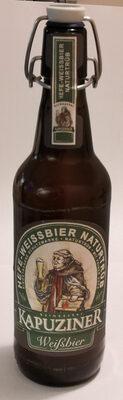 Kapuziner Hefe-Weißbier naturtrüb - Product - de