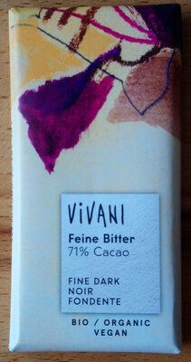 Feine Bitter 71% Cacao - Produkt