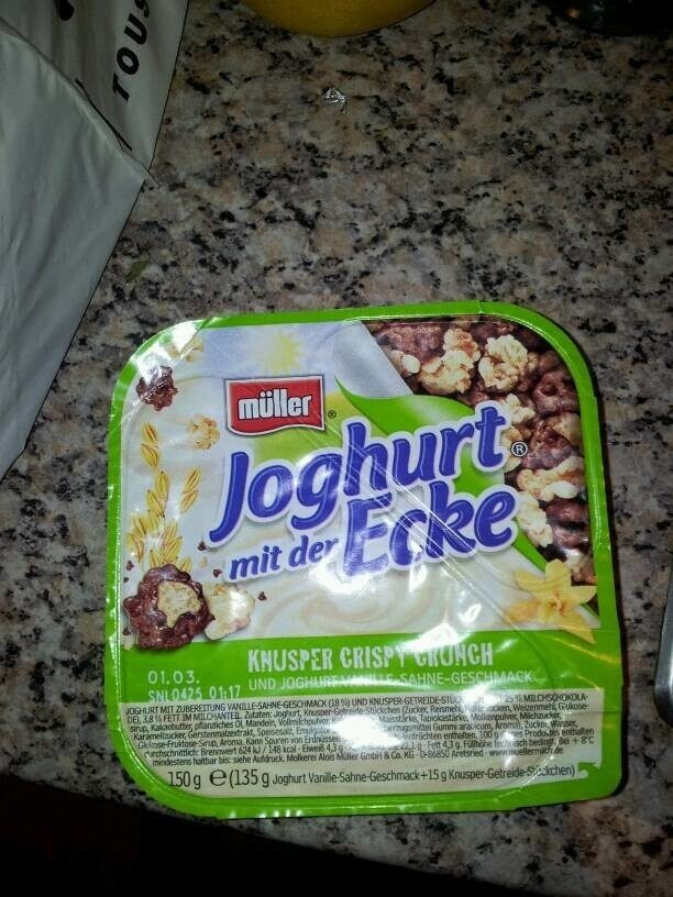Joghurt mit der Ecke - Produkt - de