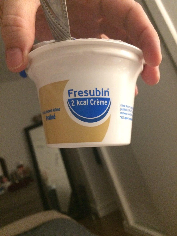 Fresubin crème praliné - Nutrition facts - fr