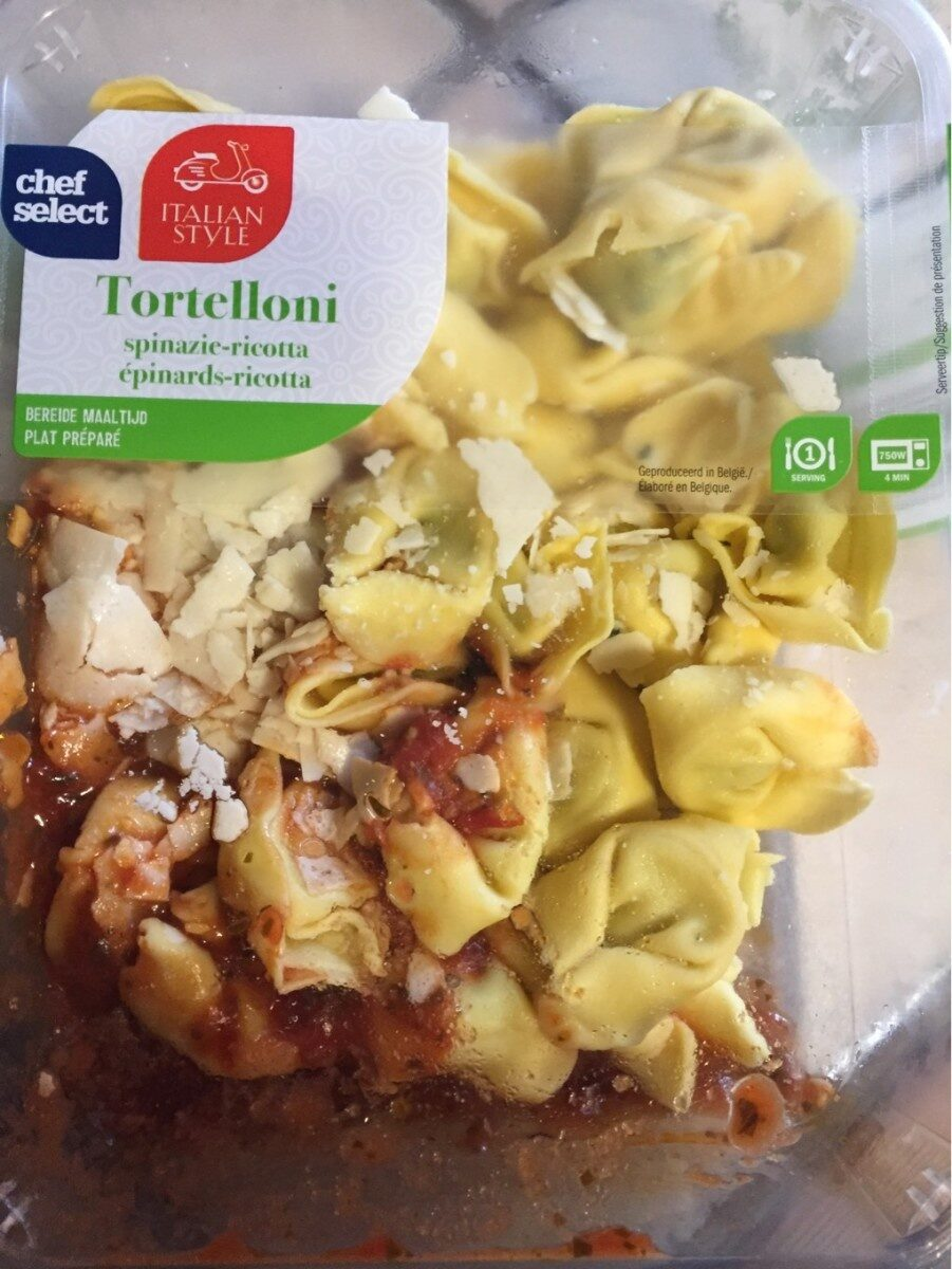 Tortelloni epinards ricotta - Product - nl