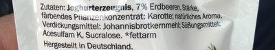 Milbona Skyr To Go Joghurterzeugnis Mit Erdbeeren - Ingredientes - de