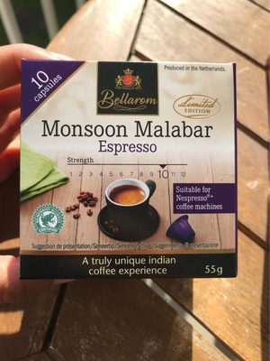 Monsoon Malabar Espresso - Produit