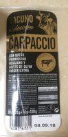 Carpaccio - Producte - fr