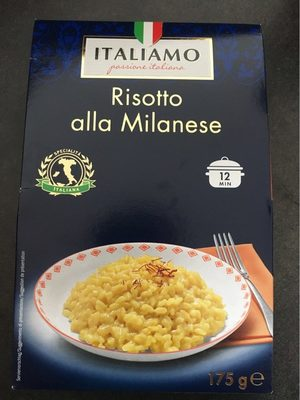 Risotto alla Milanese - Produit - fr