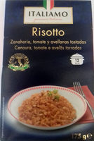 Risotto carrots tomatoes - Producto