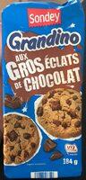 Grandino aux Gros eclats de chocolat - Prodotto - fr