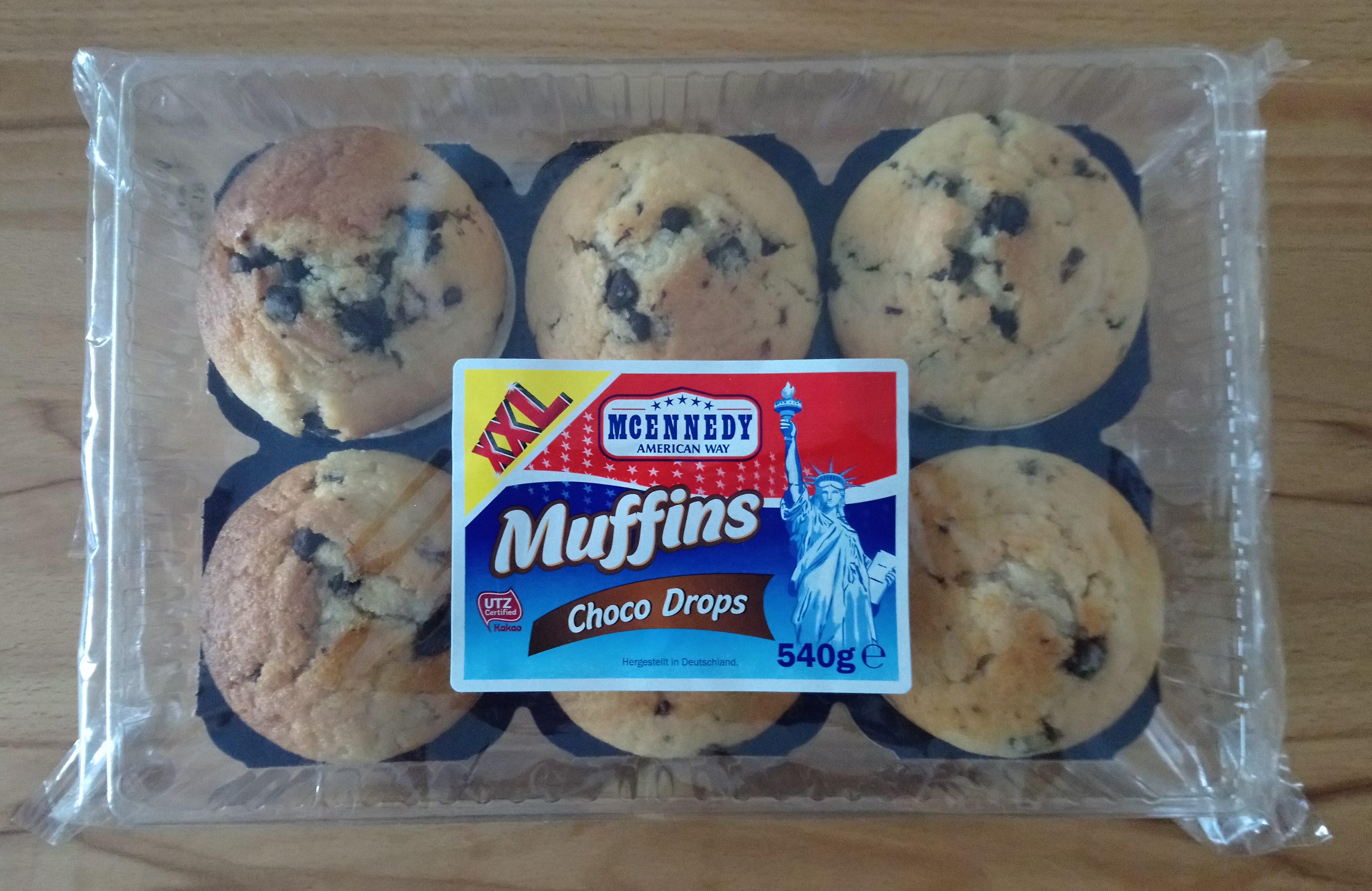Muffins choco drop XXL - Produkt - de