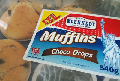 Muffins choco drop XXL - Produit - fr