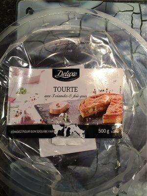 Tourte aux 3 viandes et foie gras - Produit - fr